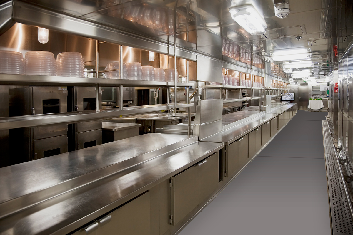 tuff trac commercial kitchen flooring - Commercial Kitchen